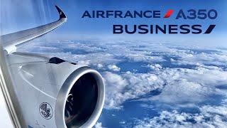 Air France [Business] Airbus A350 🇫🇷 Paris CDG - Toronto YYZ 🇨🇦 [FULL FLIGHT REPORT] + Lounge