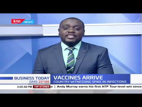 Kenya aims to vaccinated 1.25M people in the first phase of vaccination by June this year