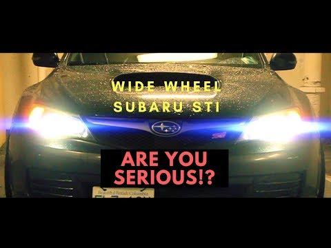 Wide Wheel Subaru Impreza STI || Perezence || Work Wheels