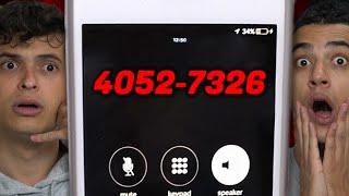 NÃO LIGUE PARA ESSE NÚMERO DE TELEFONE!! (4052-7326)
