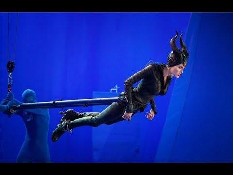 Съемка фильма :  Малефисента ( Maleficent )