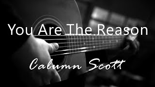 You Are The Reason   Calum Scott ( Acoustic Karaoke )