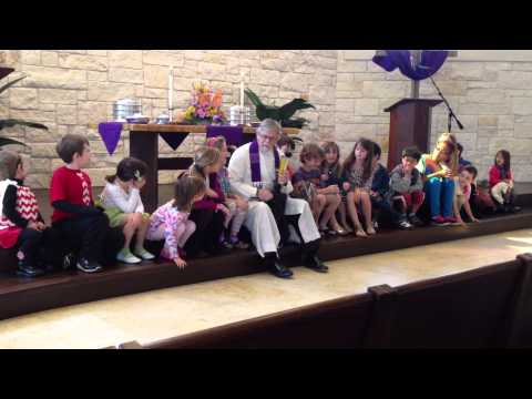 Shepherd of the Hills Christian Church - Austin, TX - Children's Moment - 2013 Palm Sunday