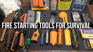 Fire Starting Tools for Survival - A Complete Overview