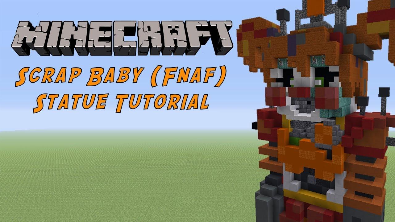 Minecraft Tutorial: Scrap Baby (FNAF 6: Freddy Fazbear's