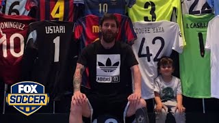 Leo Messi shows off his epic kit closet | FOX SOCCER