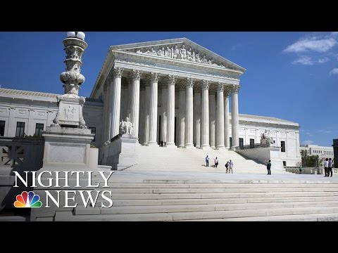 SCOTUS Takes On Critical Separation Of Church And State Case | NBC Nightly News