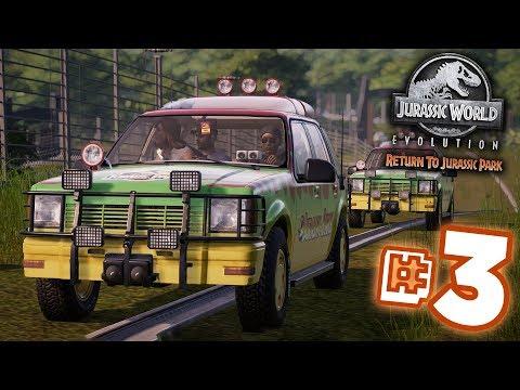The Park Open Once AGAIN!!! - Jurassic World Evolution - Return to Jurassic Park  | Ep3 HD