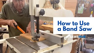 How To Use a Bandsaw for Resawing, Cutting Thick Wood, and Cutting Circles for Woodworking