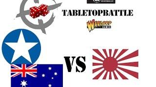 """Bolt Action 2nd ed battle report #12 - 1943: Pacific. """"Mount Tambu""""  US/AUS vs JAP"""
