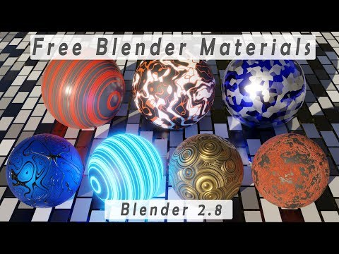 Realistic Materials for Blender 2 8 EEVEE & Cycles