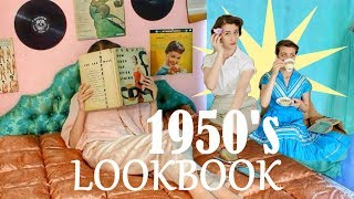9 WAYS TO STYLE 1950s CASUAL VINTAGE OUTFITS ||  LOOKBOOK ||