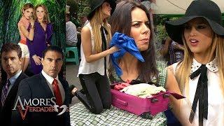 Amores Verdaderos: ¡Nikki tendrá que vender su ropa en el tianguis! | Escena - C82