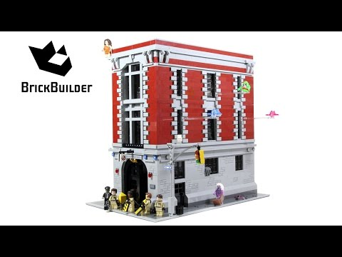 Vidéo LEGO Ghostbusters 75827 : Le QG des Ghostbusters