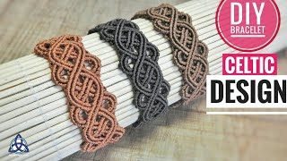 Celtic Macrame Bracelet DIY | EASY DIY IDEA