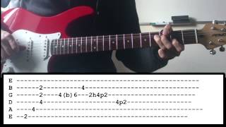 Muse - Aftermath - (Intro + Solo Lesson)