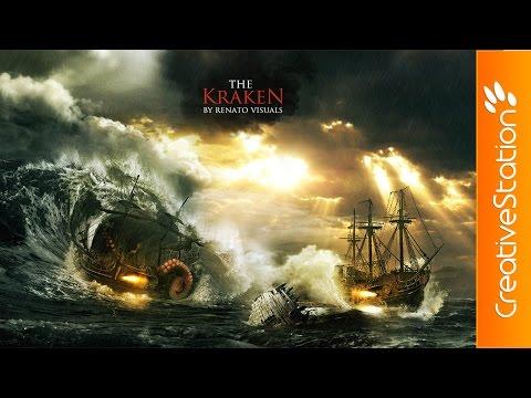 hqdefault - The Kraken, Speed Art que te va a dejar alucinado