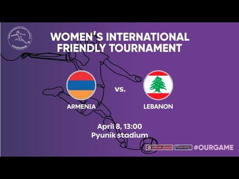 Armenia - Lebanon. Women's international friendly tournament