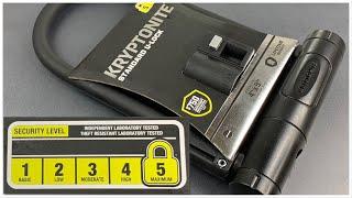 "[907] ""Maximum"" Security or Marketing Hype? Kryptonite Standard U-Lock"