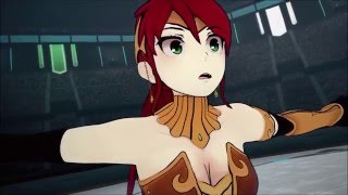 Vytal Festival Finals: Penny Polendina vs Pyrrha Nikos & Ruby Rose vs Mercury Black (RWBY Volume 3)