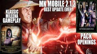 Mk11 Kitana D'vorah & Cetrion gameplay | New character