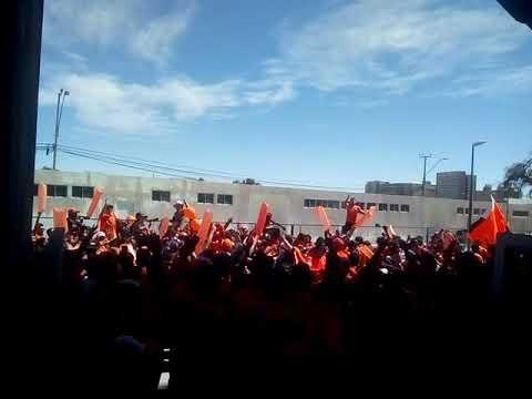 """Huracan Naranja Cobreloa 2"" Barra: Huracan Naranja • Club: Cobreloa"