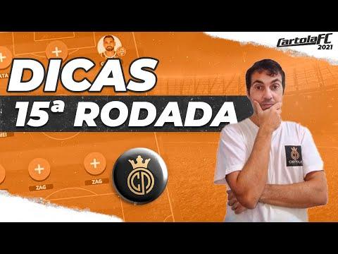 Dicas Rodada 15 - Cartola FC - Flamengo em peso