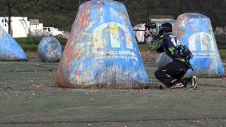 preview picture of video 'INTEMPERATE AT FUN CUP 2014 PAINTBALL M5 part 1'