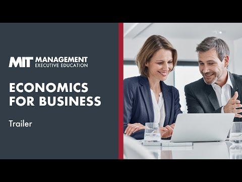 MIT Sloan Economics for Business | Course Trailer