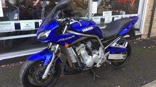 Yamaha Fazer 1000 2003 Blue walk round and Review