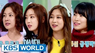 Hello Counselor - Park Sohyeon, Kang Yewon, Lee Seyeong, Dayoung [ENG/2016.04.18]
