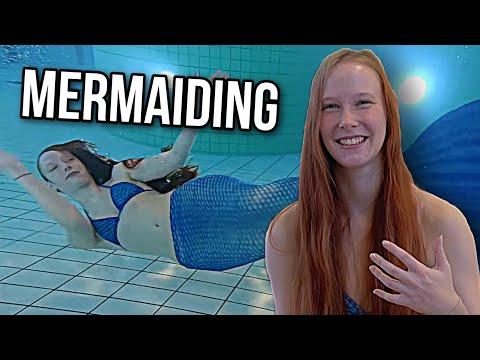 """""""Mermaiding"""" - Schwimmen mit der Monoflosse"""
