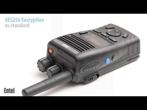 Entel – DN495  PoC radio handset 4G LTE Wi-Fi  Push-to-talk