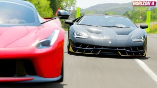 Lamborghini Centenario Forza Horizon 4 म फ त ऑनल इन