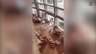 Epic Typhoon Mangkhut hit Hong Kong and China