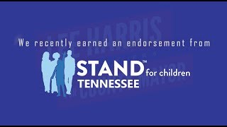 SHELBY COUNTY MAYORAL CANDIDATE LEE HARRIS EARNS ENDORSEMENT FROM STAND FOR CHILDREN