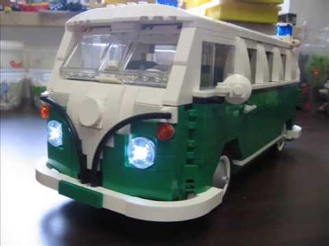 Farb- und Modellvariationen vom LEGO Camping Bus 10220
