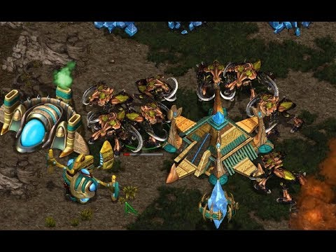 MaNa (P) v ZerG[kaL] (Z) on Heartbreak Ridge - StarCraft  - Brood War REMASTERED