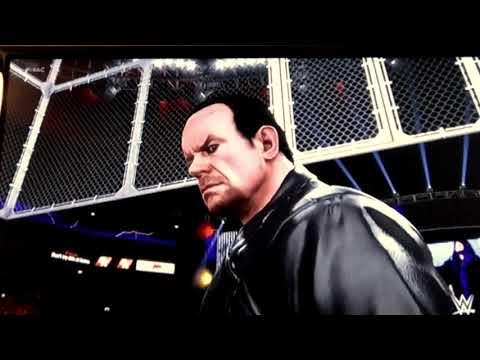 Download Wwe Undertaker Vs Brock Lesnar Hell In A Cell Video 3GP Mp4