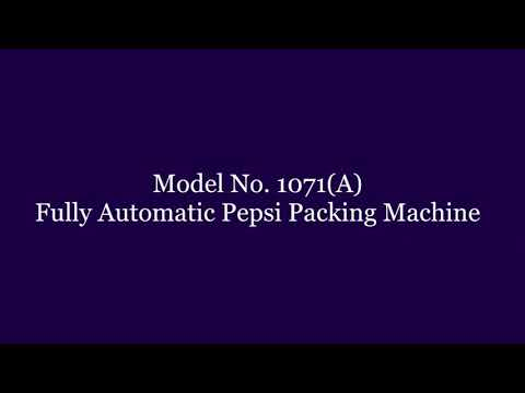 Fully Automatic Pepsi Packing Machine