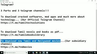 how to download movies in telegram app in tamil - TH-Clip