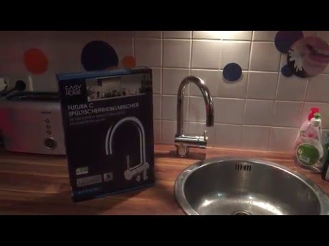 Erfahrung / Ersteindruck Eisl Armatur Futura für die Küche