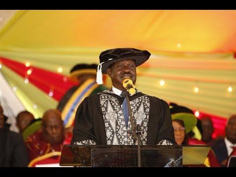 Raila Odinga wants leaders with fake Degrees arrested