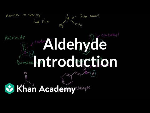 A thumbnail for: Aldehydes and ketones