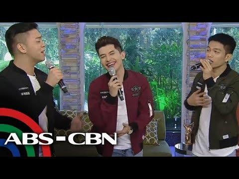 [ABS-CBN]  UKG: TNT Cove, maagang nag-pakilig sa UKG stage