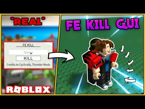 Roblox exploiting - FE kill without tools! - Razorgator7