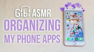 [Satisfying ASMR] Organizing my Phone Apps | What