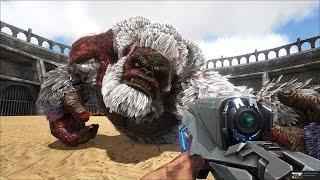 ARK: Survival Evolved - Vào đấu trường khủng long nổi loạn, lấy Boss ra solo =))