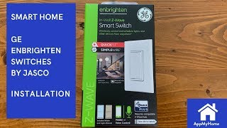 GE Enbrighten Z-Wave Plus Smart Switches with QuickFit™ and SimpleWire™