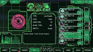 videó Space Warlord Organ Trading Simulator
